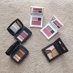 Lancôme, clinique eyeshadow palettes